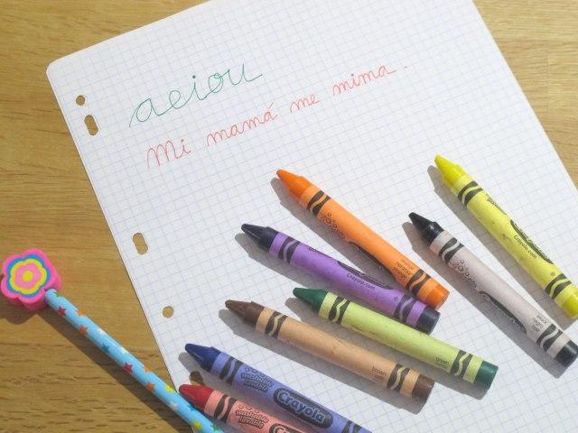 bilingüismo, enseñar a escribir a los hijos