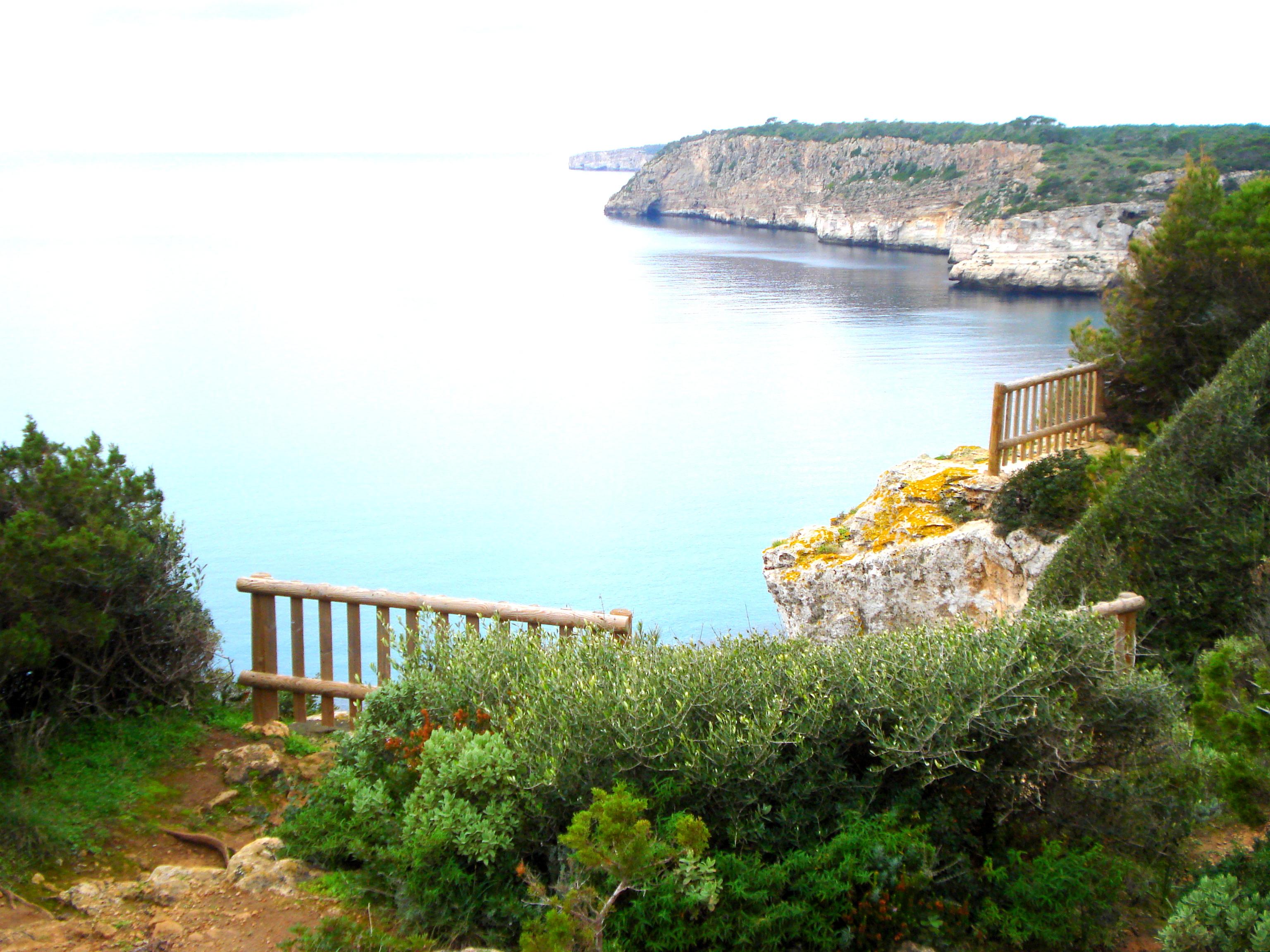 plage à Menorca