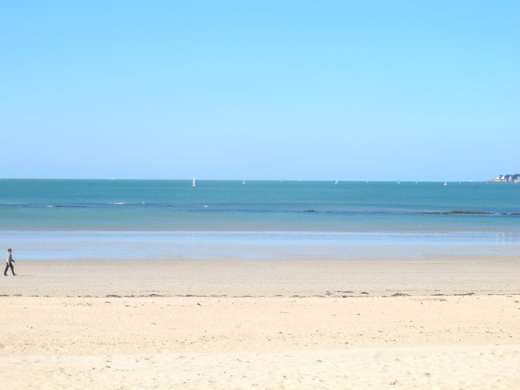 Playa de Pornichet, Francia