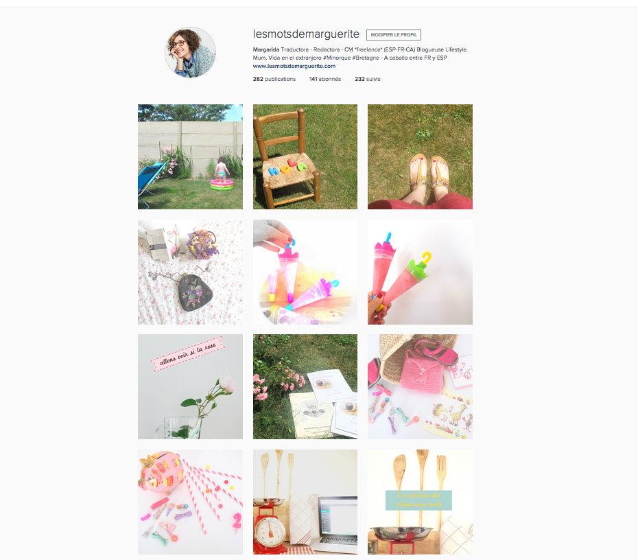 Instagram Les mots de Marguerite