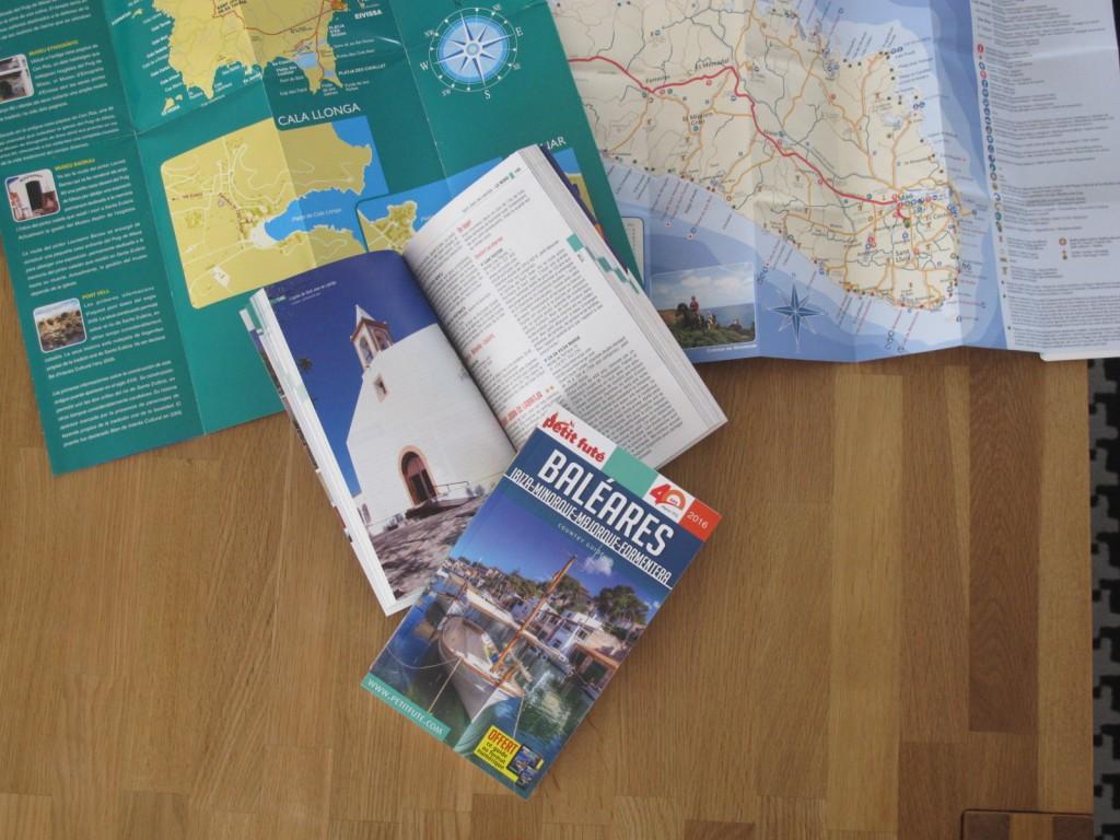 Autora guía de viajes Petit Futé : Baleares 2016