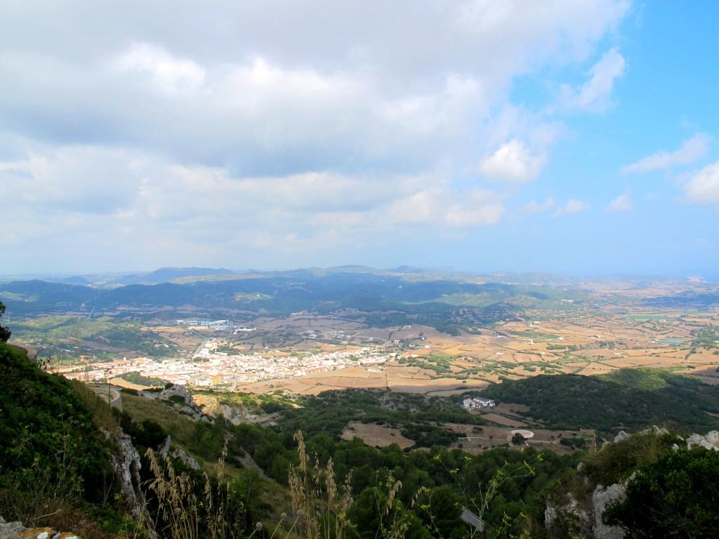 Vues Monte Toro Minorque