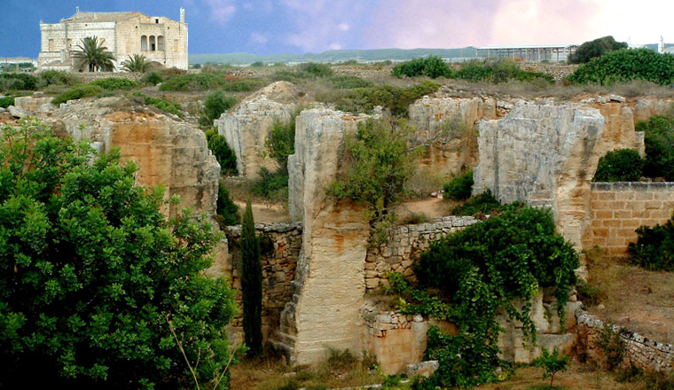 Lithica à Ciutadella, Minorque