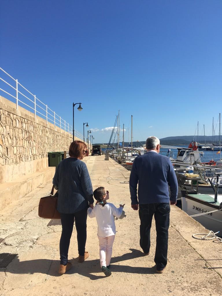 Abuelos en el extranjero