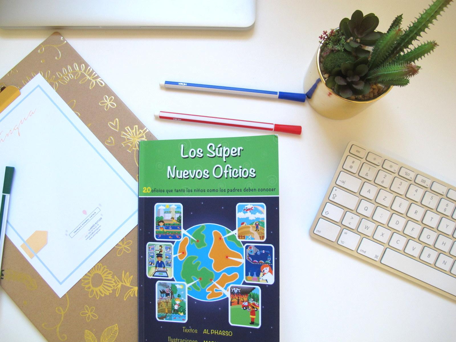 Traducción libro Los súper nuevos oficios de Alphasso