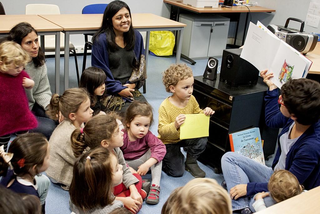 niños bilingües español nantes