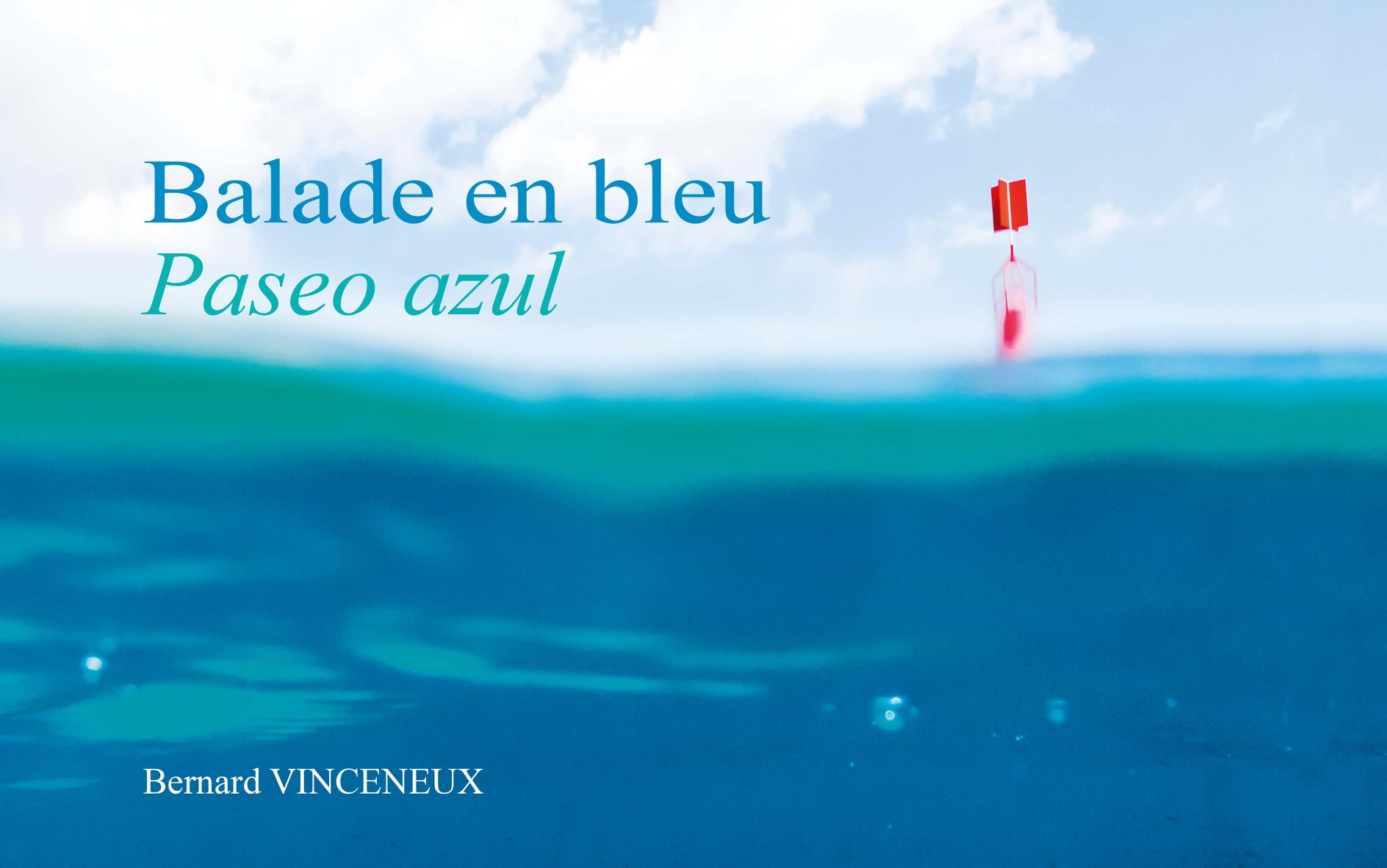 Livre Balade en bleu de Bernard Viceneux