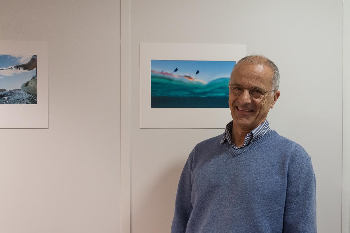 Le photographe Bernard Vinceneux