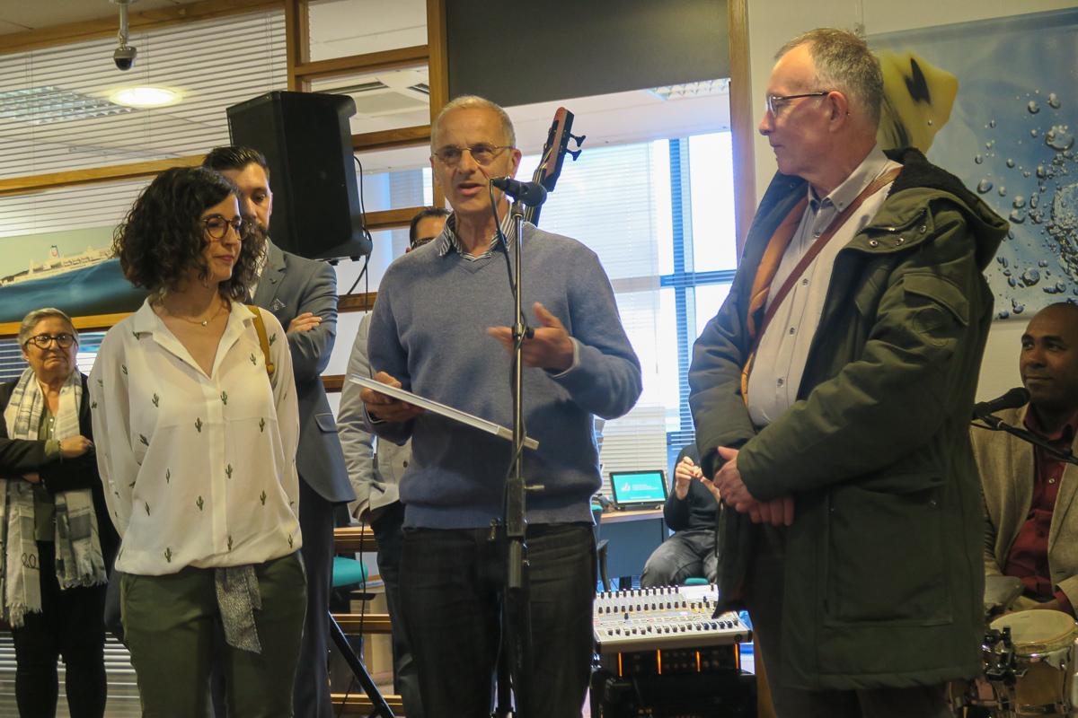 Margarida Llabrés, Bernard Vinceneux et Philippe Gicquel