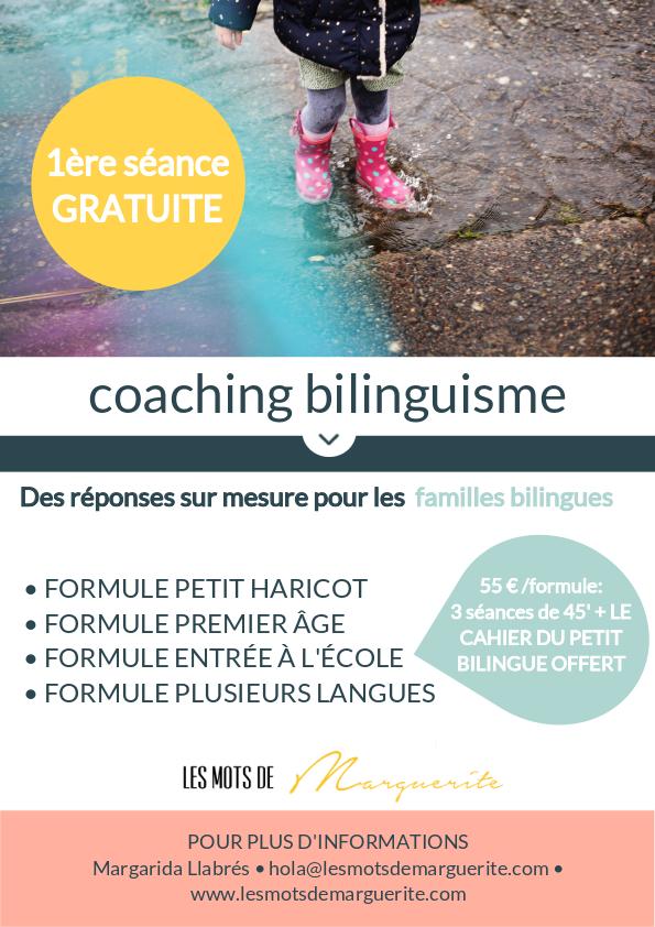 coaching bilinguisme enfants et famille